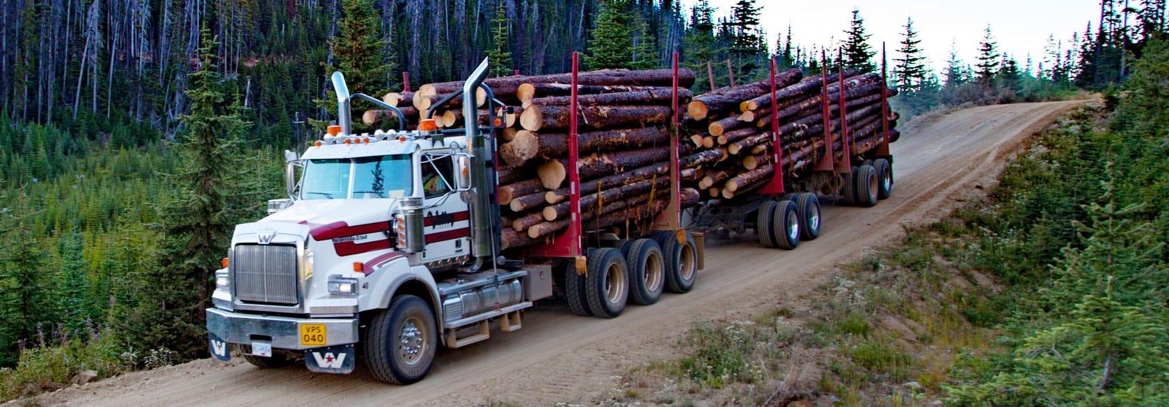 log hauling
